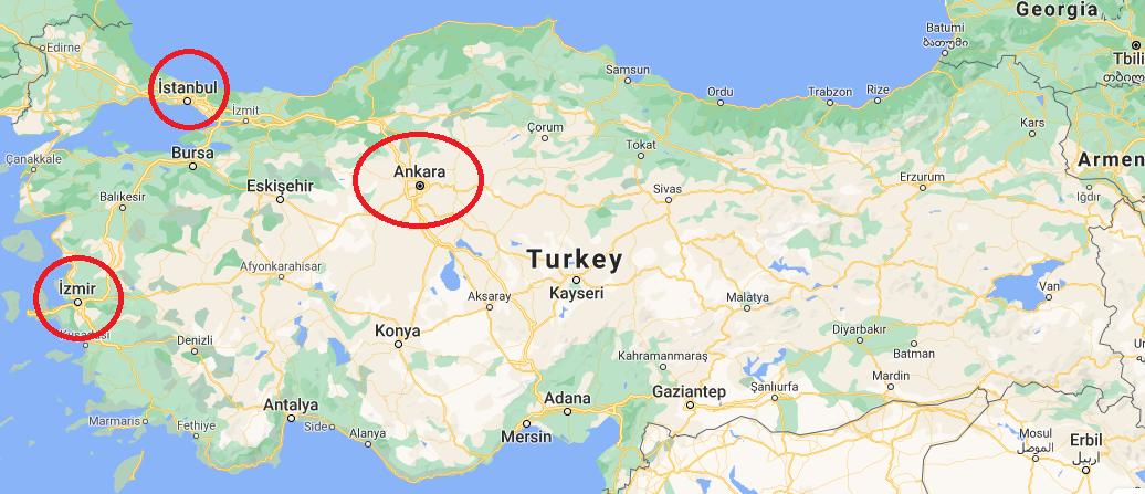 turkiye harita