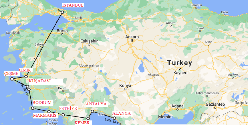 turk rivierasi